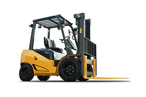 Forklift Driver Training forklift truck yellow and black